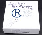 Chris Reeve Knives Small Inkosi Blue carbon Fiber Blade Show West 2019 Limited Edition