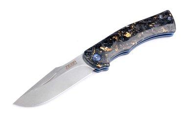 Zieba Knives Heritage Carbon Fiber Bronze