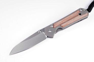 Chris Reeve Knives Sebenza 21 Small Insingo / Natural Canvas Inlay
