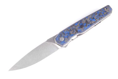 Brown Knives LHC-X Blue Marvel Dust Carbon Fiber nr 184