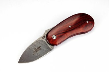 Viper Drop Cocobolo and damascus VA5730CB