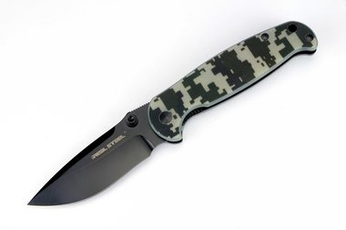 Real Steel H6 Blue Sheep Dark Camo / Black Finish