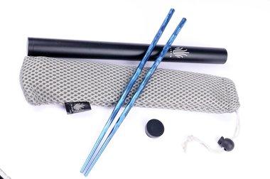 Kizer Titanium Chopsticks T309A2 Blue