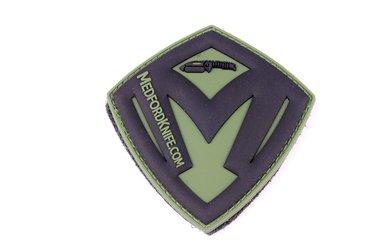 Medford Shield patch OD green