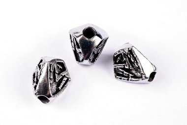 Medford Scarface bead Pewter