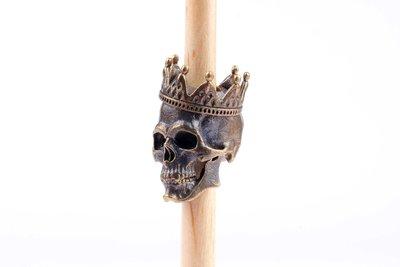 "Michael Zieba Bead ""Skull King"""