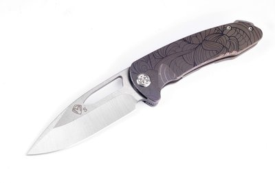 Medford Knife & Tool On Belay Custom Engraved Art Nouveau