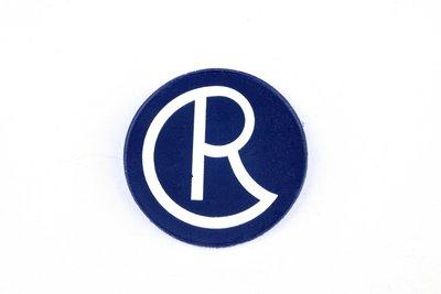 CRK PVC patch CR Logo