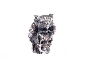 Olamic Cutlery Skullhunter Owl bead