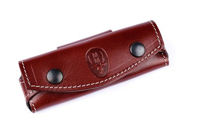 Muela leather knife pouch